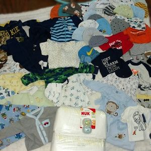 Carter's Matching Sets - HUGE baby boy lot, 85 pieces